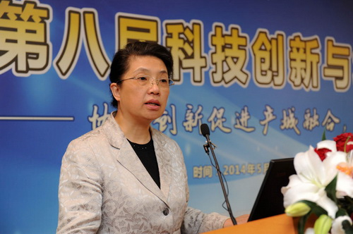 Lu Wei delivers speech at CHITEC