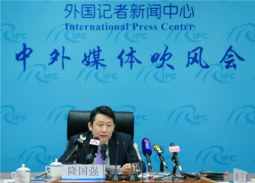 DRC Vice-President attends a briefing on China's economy