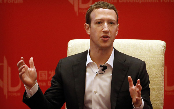 Artificial intelligence can change the world: Zuckerberg