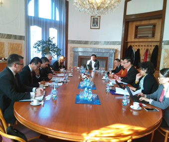 Wang Yiming leads a survey group to Spain and the Czech Republic
