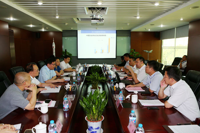 Li Wei leads survey group to Beijing Shenwu Group