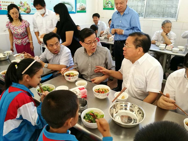Li Wei leads survey group to Guizhou