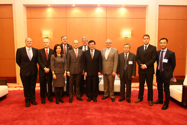 Li Wei meets with president of China-Britain Business Council