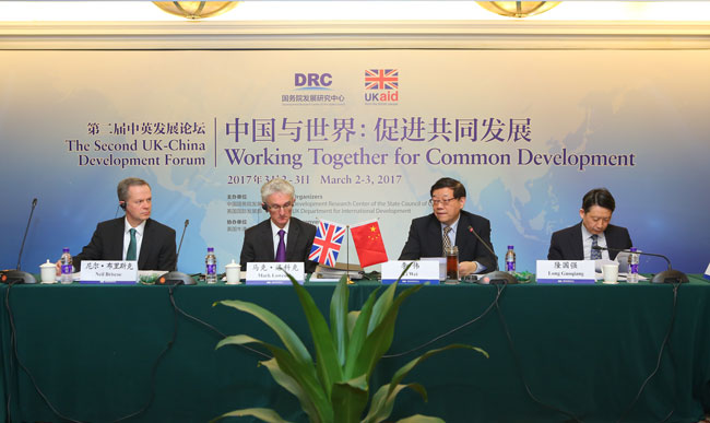 China-UK Development Forum held in Beijing