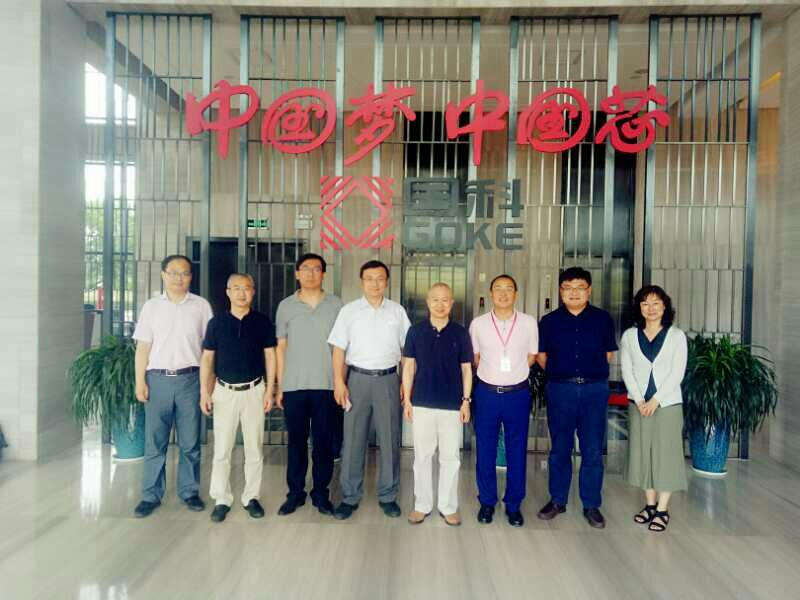 DRC delegation visits integrated circuit enterprises