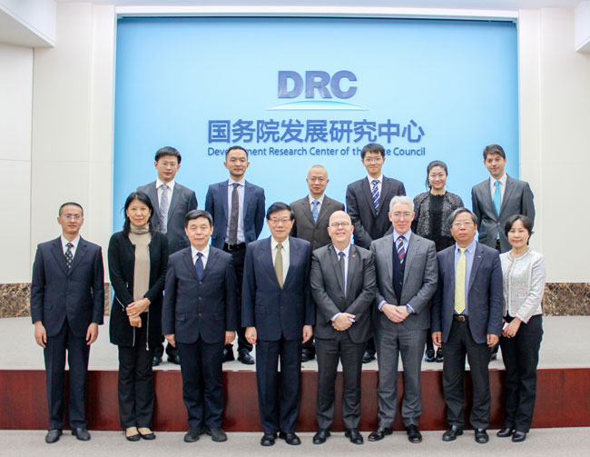 DRC President meets with president of the European Union Chamber of Commerce in China