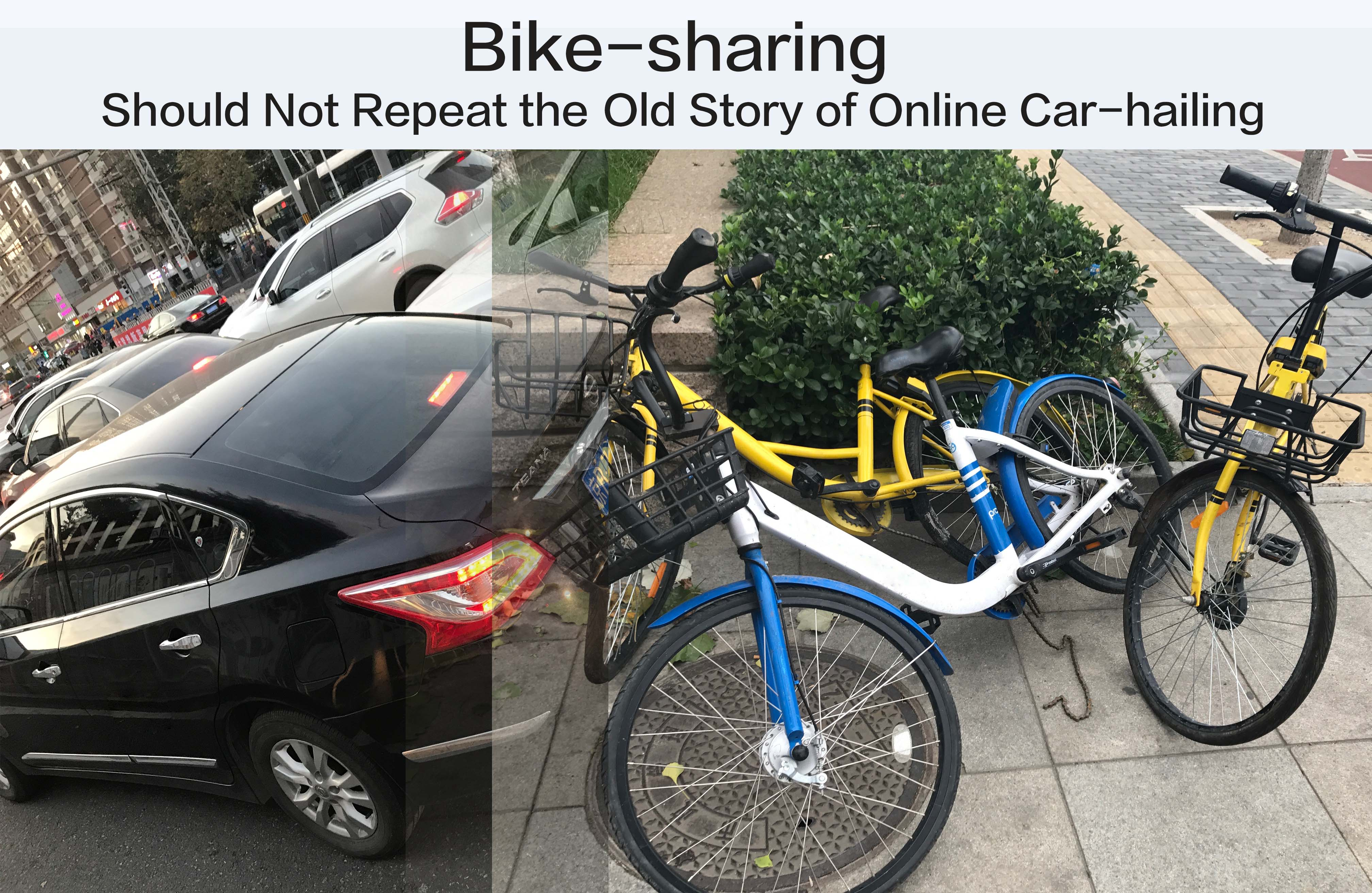 Bike-sharing Should Not Repeat the Old Story of Online Car-hailing