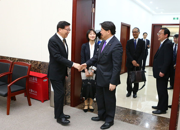Japanese Education Minister visits DRC