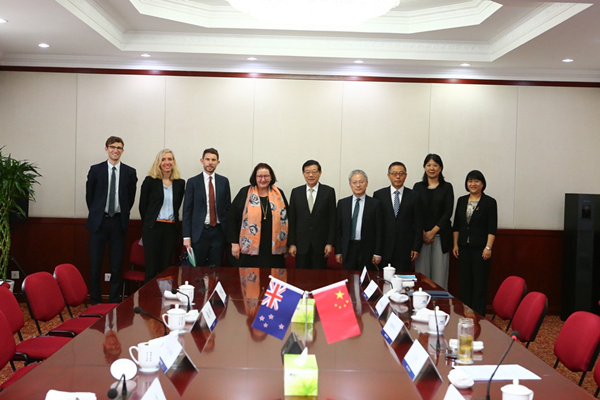 DRC President meets New Zealand Ambassador to China