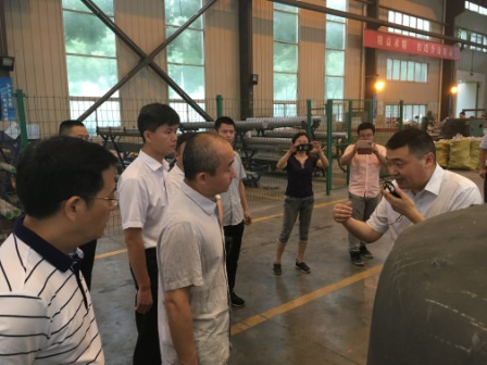 DRC delegation visits Jiangsu for research on military-civilian integration industry
