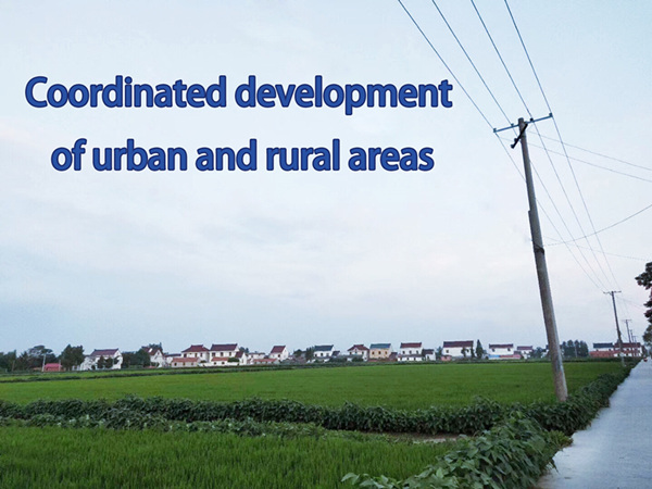 Reconstruct the New Mechanism of Coordinated Development in Urban and Rural Areas to Meet New Challenges