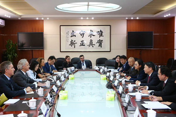 Delegation of American Chamber of Commerce in Hong Kong visits DRC