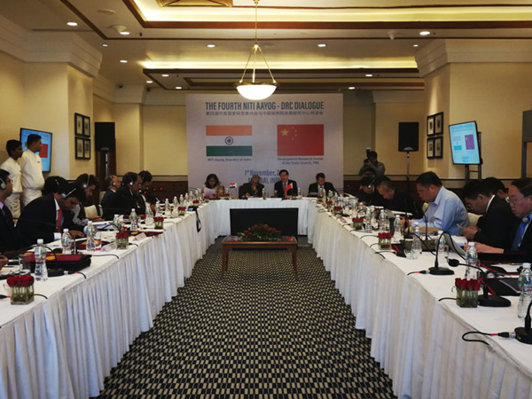 4th NITI Aayog-DRC Dialogue held in India
