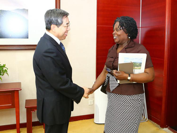 DRC official meets with Vice-President of the World Bank